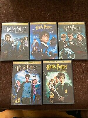Harry Potter - DVD Box Set  1-5 Excellent Condition With A 5 Disc Set