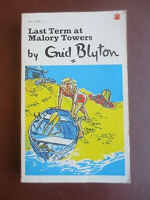 Vintage Book Enid Blyton Last Term at Malory Towers 1974 Dragon Paperback