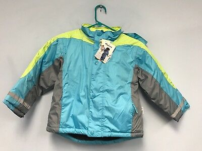 Playshoes Girls Waterproof Rain Jacket Puffer Coat 128 7-8 Years
