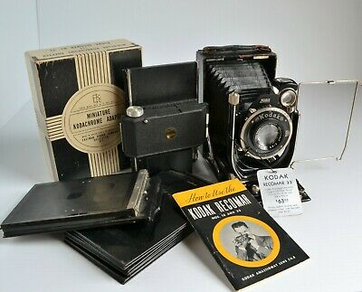 Kodak A.G. Dr. Nagel Werk Recomar 33 Large Format Film Outfit, Made in Germany