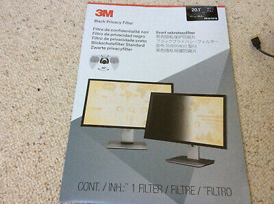 3M Black Privacy Filter 20.1 Inch Computers Laptop