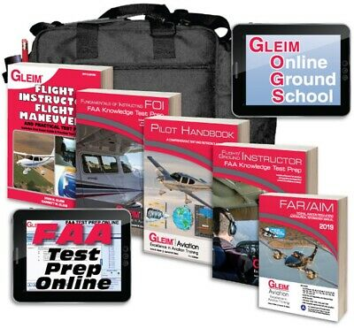 Gleim Flight/Ground Instructor + Foi Kit W/ Online Ground School
