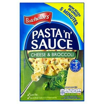 Batchelors Pasta 'n' Sauce cheese and broccoli  Flavour x 4