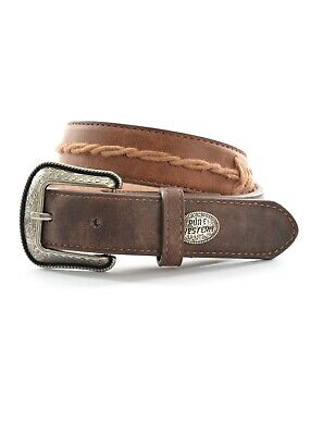 Pure Western Kids Dominic Belt Coffee