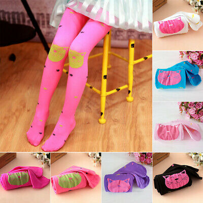 Kids Tights Girls Socks Stretch Casual Tights Toddlers Soft Outdoor Socks