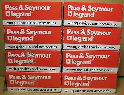 EIGHT PASS & SEYMOUR/Legrand PS20AC1-RED,single pole switch 20A 120/277VAC RED