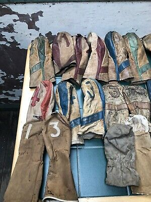Vintage Golf Head Covers X34 Some Leather Etc From 1900 Onwards See Desc