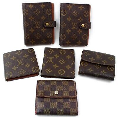 Louis Vuitton Monogram Wallet Diary Cover 6 pieces set 570011