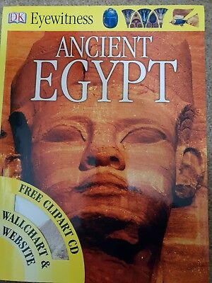 Ancient Egypt (Eyewitness) paperback July 2007 with Clipart CD and Wallchart