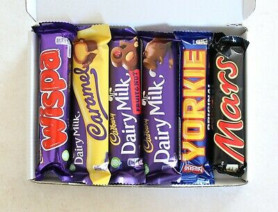 Cadburys Chocolate Selection Box of Full Size Bars with Yorkie and Mars