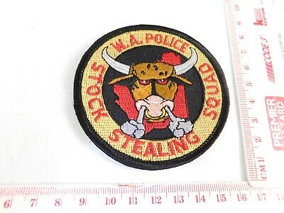 WAPOL Stock Stealing Squad Patch Obsolete Rare