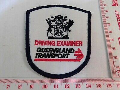 Queensland Transport Driving Examiner Obsolete Patch Rare