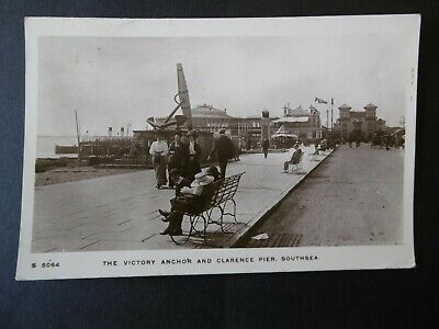 Southsea - The Victory Anchor & Clarence Pier