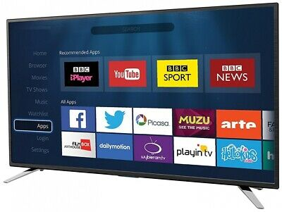 """Sharp 32"""" LED Smart TV Full HD 1080p Freeview HD Media Player / Record and Wifi"""