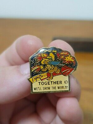 World Expo 88 Badge - Together We'll Show The World