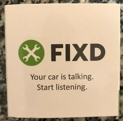 New SEALED FIXD OBD-II 2nd Generation Active Car Health Monitor