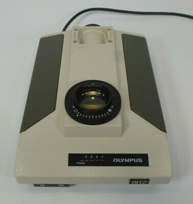 Olympus BH2 Microscope Base Power Supply / Voltmeter - Lamp / Light Source
