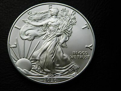 2020 American Silver Eagle BU 1 oz .999 Fine IN STOCK NOW For a little longer !