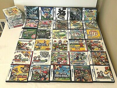 Nintendo DS 3DS Choice Replacement Cases Manual Only Pokemon Mario Kirby No Game