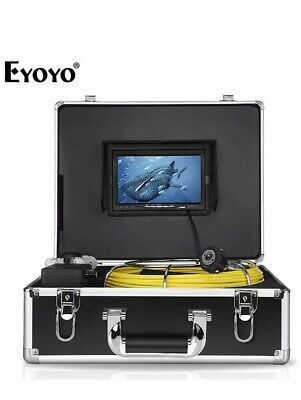 Eyoyo Pipe Pipeline Inspection Camera 30M/98ft Drain Sewer Industrial Endoscope