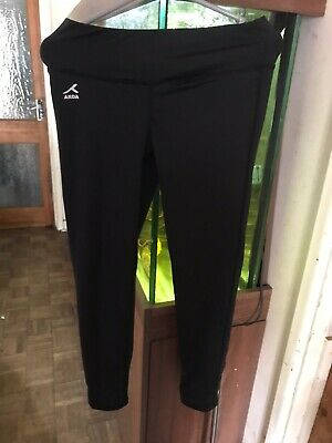 Akoa Girls Leggings - Black - Extra Small - School Uniform PE Kit Sportswear New