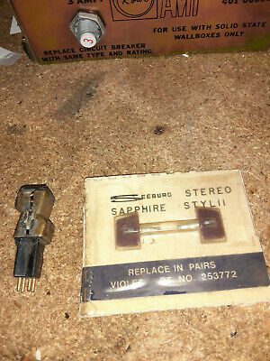Seeburg stereo  cartridge with new needles