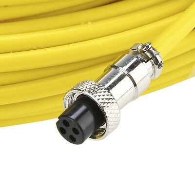 30m Inspection Tube Yellow for Sewer Pipeline Inspection Camera Video Detector