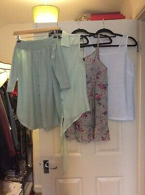 Bundle Of Spring/Summer Tops Excellent Condition Size 12