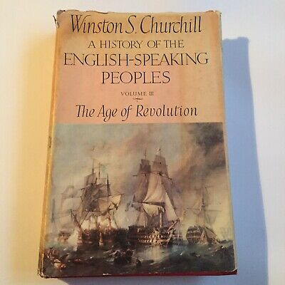 HISTORY OF THE ENGLISH SPEAKING PEOPLES Vol 3 Winston Churchill 1st Edition 1957