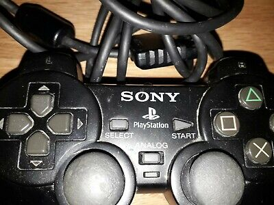 Sony Playstation Genuine Official dual shock controller control ps1 ps2 faulty