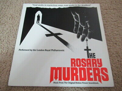 "The Rosary Murders Motion Picture Soundtrack 12"" LP Record Horror London Royal"