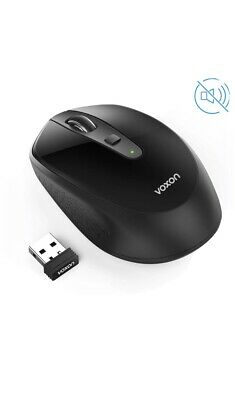 2.4GHz Wireless Cordless Optical Scroll Mouse Silent Mice for PC Laptop USB UK