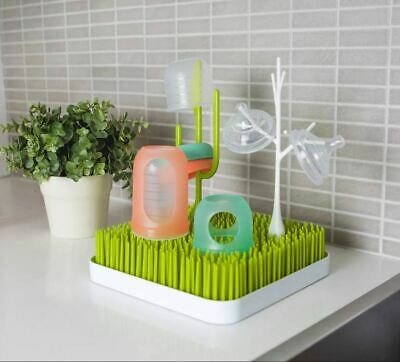 oon Grass Countertop Baby Bottle Cup Drying Rack Green BPA PVC Phthalates Free