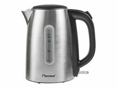 Bestron Kettle 1.7 litres 2200 W stainless steel AWK1800