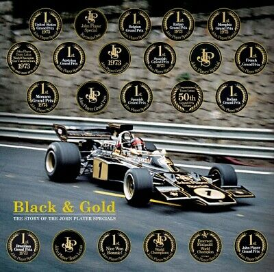 Black & Gold (Team Lotus John Player Special JPS) Buch book Formel Formula 1