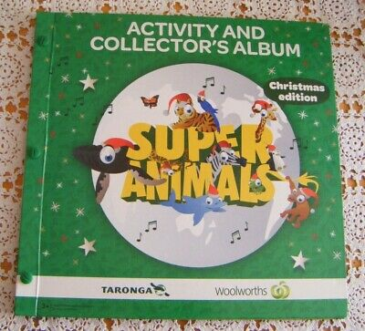 Woolworths Activity Collectors Album and full set of cards.Christmas Collection.