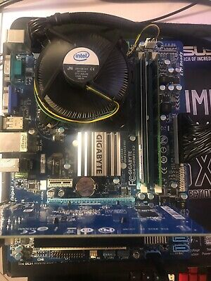 Q9400 CPU+Mobo+cooler+8GB DDR3 ram Combo updated