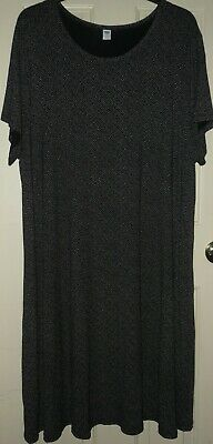 Plus Size 4X STRETCH KNIT DRESS from OLD NAVY NWOT