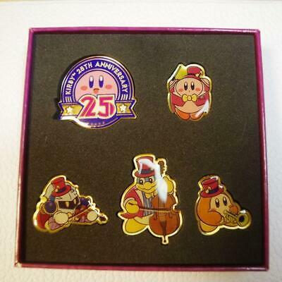 Kirby/'s 25th Anniversary Orchestra Concert Pins Pin Badge F//S JAPAN
