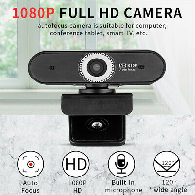 USB 2.0 HD Webcam Camera Web Cam With Mic For Computer PC Laptop Desktop AU