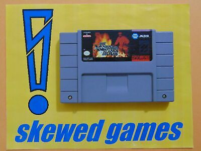 The Ignition Factor - Cart Only - SNES Super Nintendo