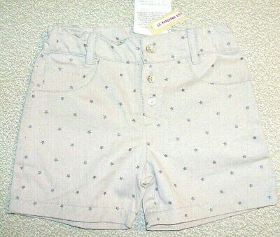 Le Marchand D'etoile French luxury label shorts NWT 4A organic cotton B or G