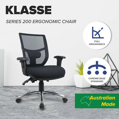 Office Chair Mesh Fully Ergonomic Computer Chairs Posture Correct Back Support