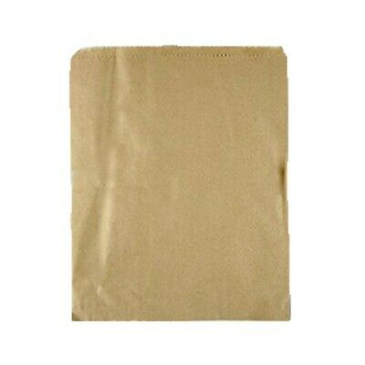 NEW Brown Paper Bags - 240mm - PACKET(500) - Kent Paper