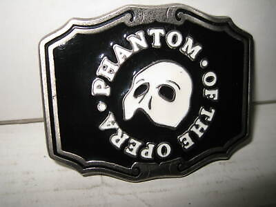 Phantom Of The Opera  Ltd Ed Made In The Usa    Belt Buckle   Old Shop Stock