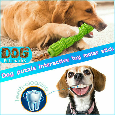 Dog Chew Toys for Aggressive Chewers Treat Training Rubber Tooth Cleaning Toys