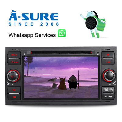 4GB RAM Octa Core IPS Android DVD GPS A2DP WLAN Ford Focus Transit FIESTA Kuga