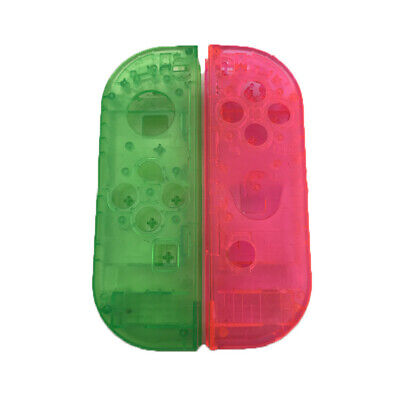 For NS Switch JOY-CON Left/right Handle Housing Shell Transparent Cover X2