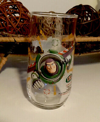 TOY STORY BUZZ LIGHTYEAR COLLECTOR LIMITED EDITION DRINKING GLASS IXL 4 Of 12