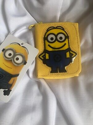 Official Licensed Kids Boys Girls Minions Wallet Purse Despicable Me